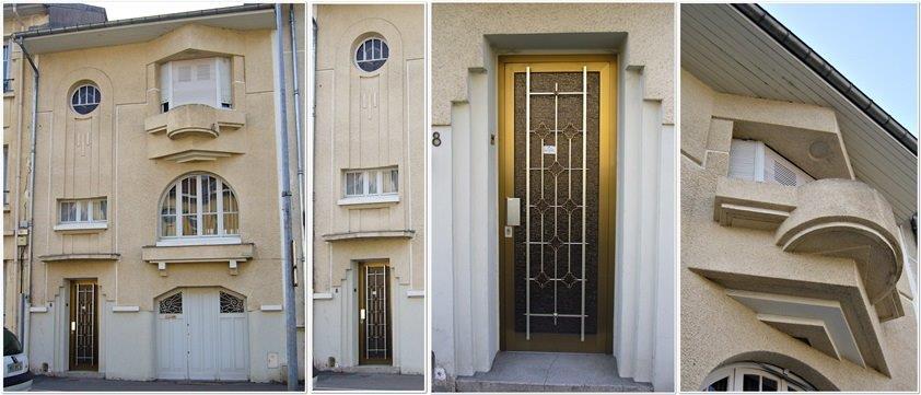 Architecture art d co nancy for Exemple de facade moderne