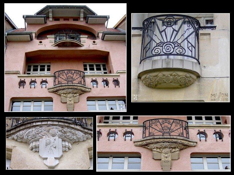 Architecture art d co nancy for Facade maison 1930